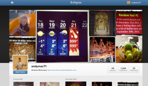 instagram  new web interface