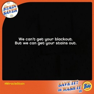 stain superbowl blackout ad